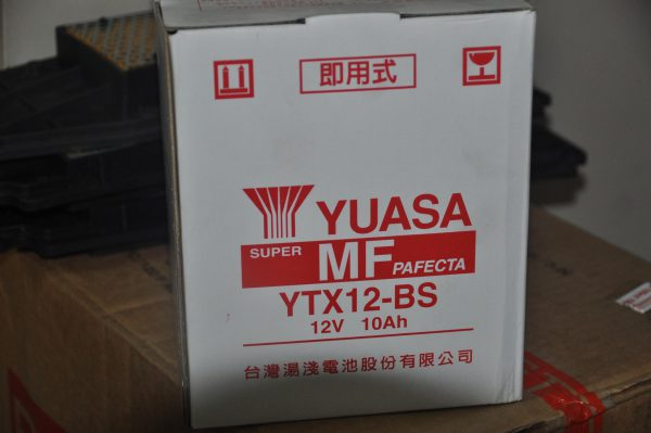 YUASA YTX12-BS 12V 10Ah